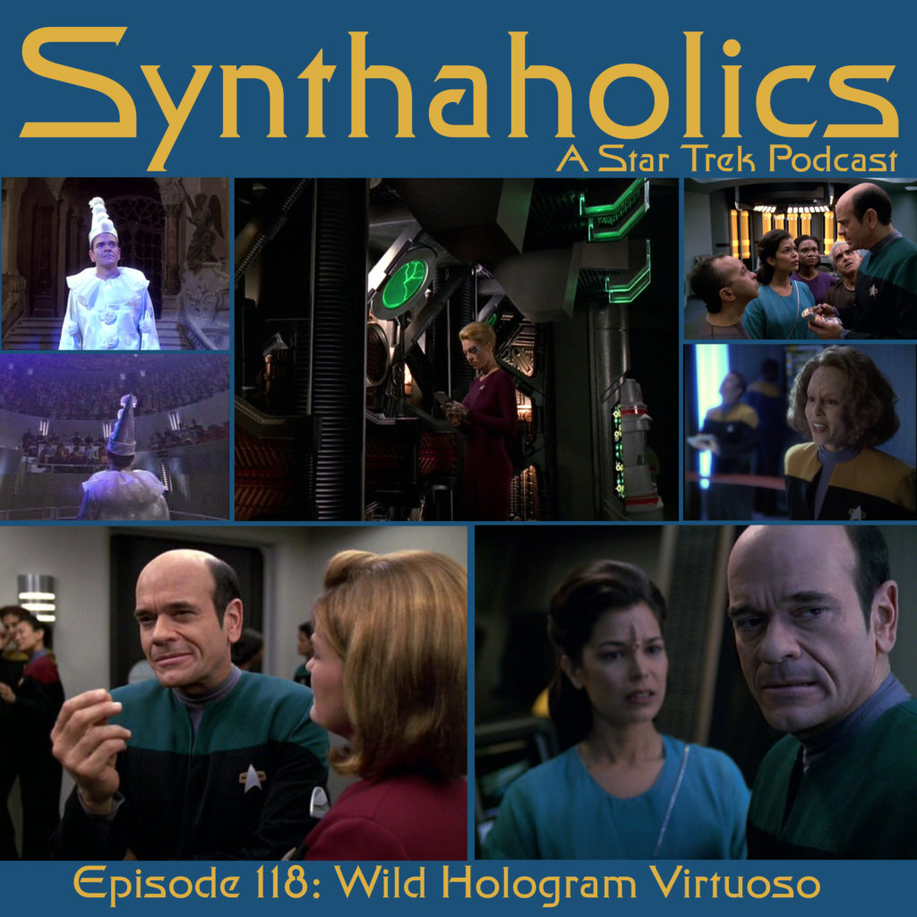 Synthaholics Episode 118: Wild Hologram Virtuoso