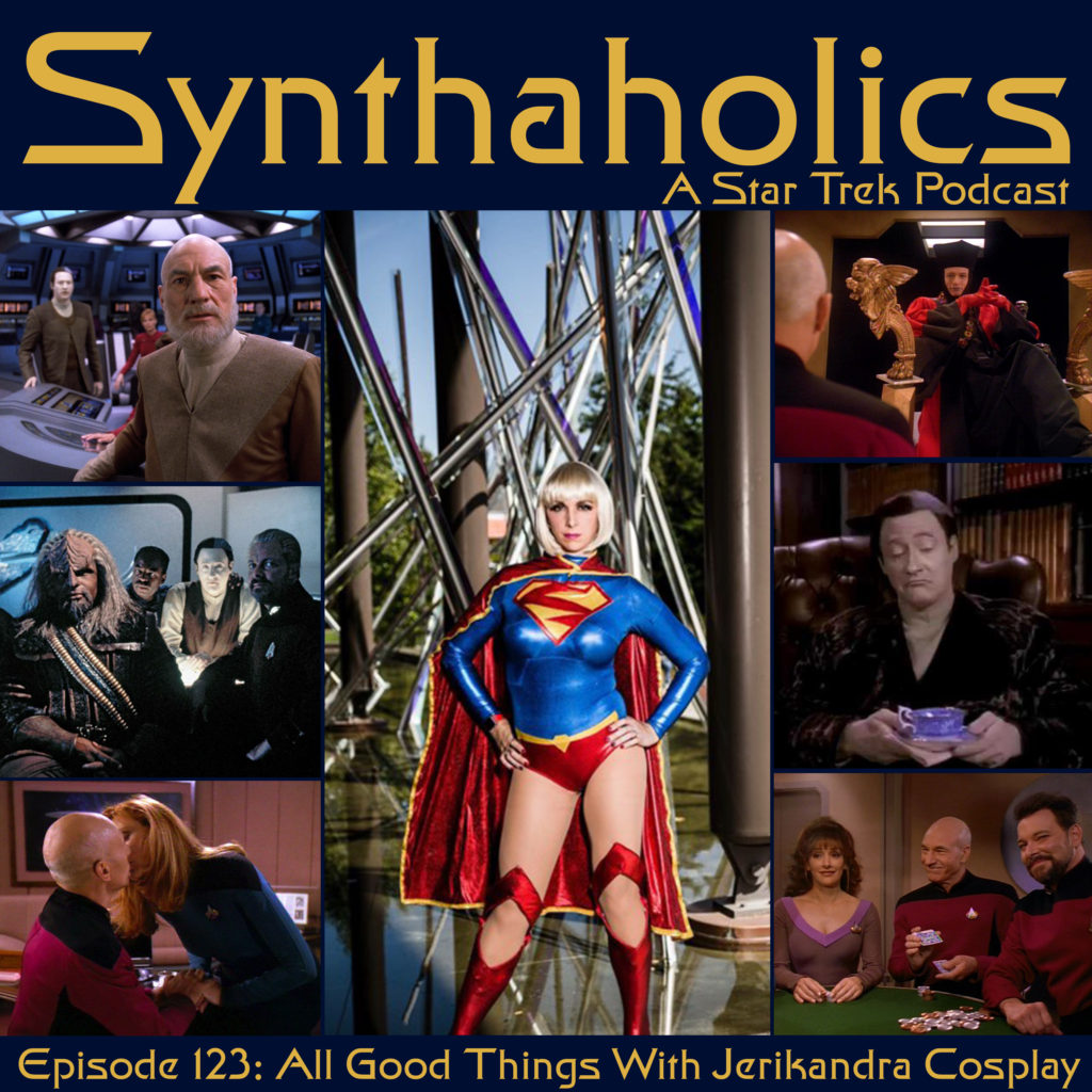Synthaholics Episode 123: All Good Things with Jerikandra Cosplay