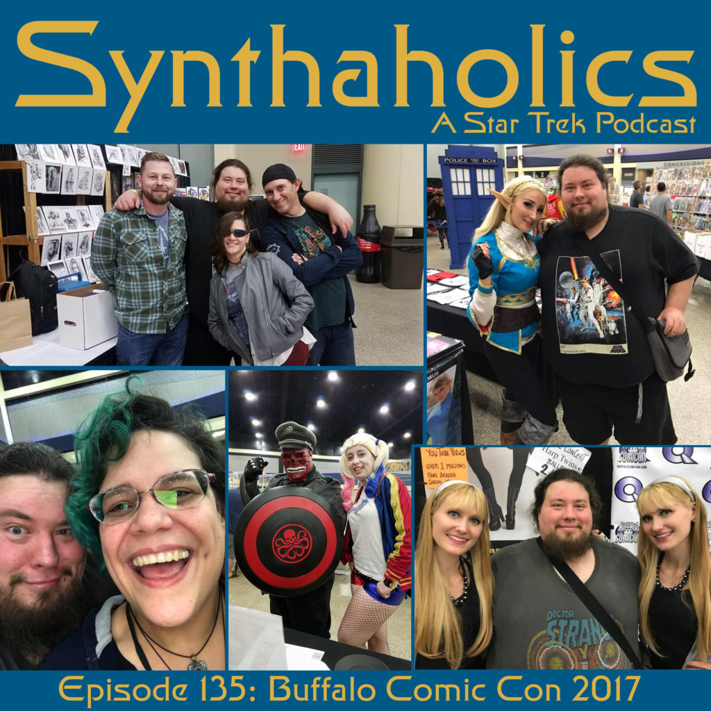 Episode 135: Buffalo Comic Con 2017