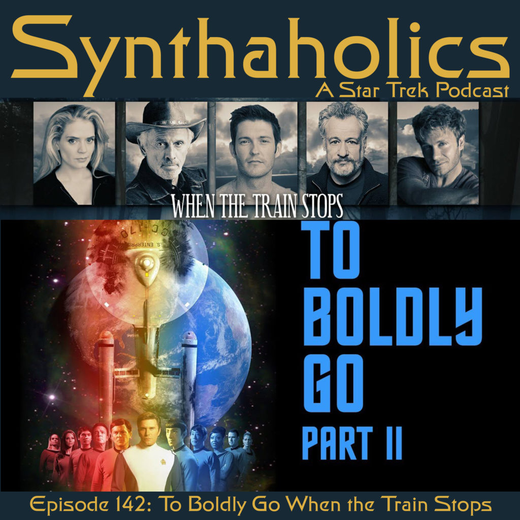 Episode 142: To Boldly Go When the Train Stops with Kipleigh Brown, Lisa Hansell and James Kerwin