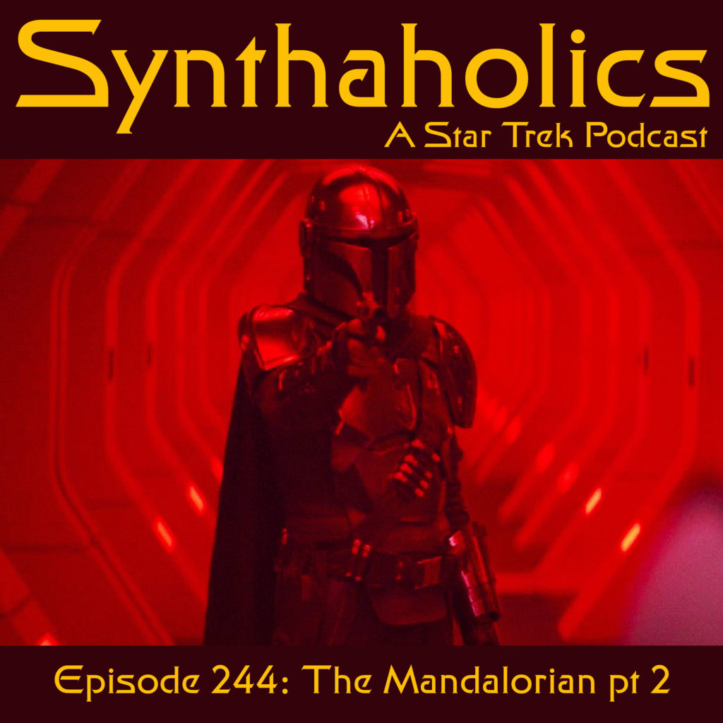 Episode 244: The Mandalorian Part 2 Featuring Robbie Palmer